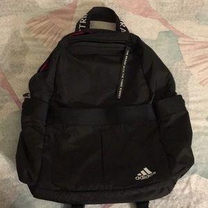 Adidas Black and Pink Bag